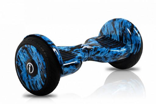 Гироскутер iBalance 10.5 Prem Series Синий Огонь - Самобаланс + Приложение