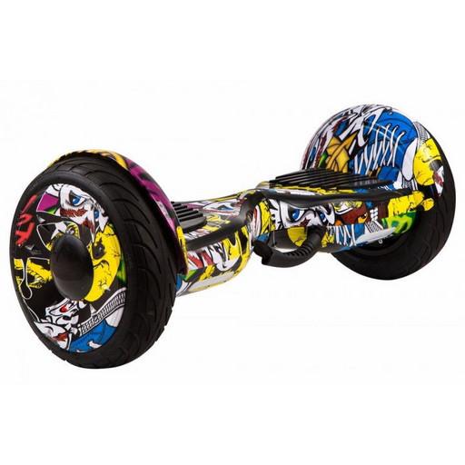 Гироскутер GT Smart Wheel 10,5 - Граффити Желтый