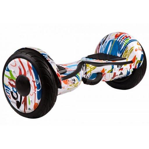 Гироскутер GT Smart Wheel 10,5 - Граффити Белый