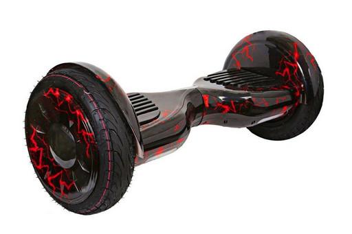 "Гироскутер Smart Balance SUV Красная Молния 10.5"" Premium PRO + Самобаланс + TaoTao"