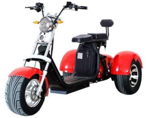 Электроскутер Citycoco Harley Pro X11 Trike