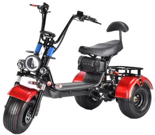Электроскутер mini Citycoco Trike GT X5