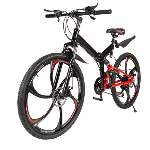 Велосипед на дисках 26 дюймов с амортизаторами (2005T)