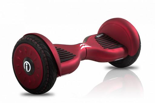 Гироскутер iBalance 10.5 Prem Series Красный Матовый - Самобаланс + Приложение