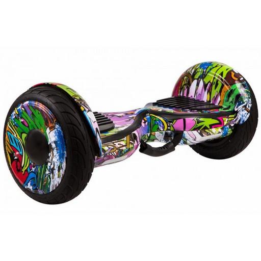 Гироскутер GT Smart Wheel 10,5 - Граффити Сирень