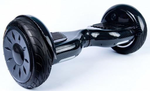 """Гироскутер Smart Balance SUV Черный карбон 10.5"""" Premium PRO + TaoTao"""