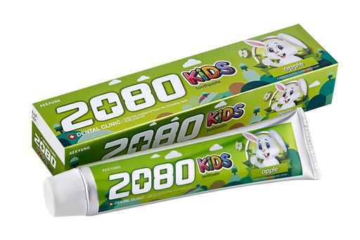 Детская зубная паста со вкусом яблока Dental Clinic 2080 KIDS Apple