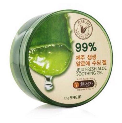 Универсальный увлажняющий гель с алое Jeju Fresh Aloe Soothing Gel 99%
