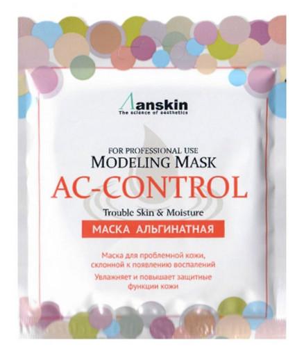 Альгинатная маска для проблемной кожи Anskin AC Control Modeling Mask