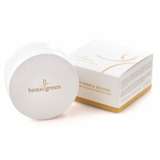 Гидрогелевые патчи c коллагеном и  золотом BeauuGreen Collagen & Gold Hydrogel Eye Patch