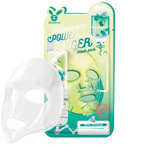 Стимулирующая тканевая маска с центеллой Elizavecca Centella Asiatica Deep Power Ringer Mask Pack