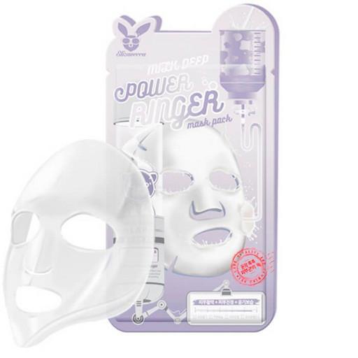 Осветляющая тканевая маска с молоком Elizavecca Milk Deep Power Ringer Mask Pack