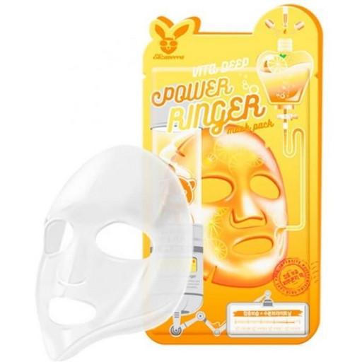 Витаминная тканевая маска Elizavecca Vita Deep Power Ringer Mask