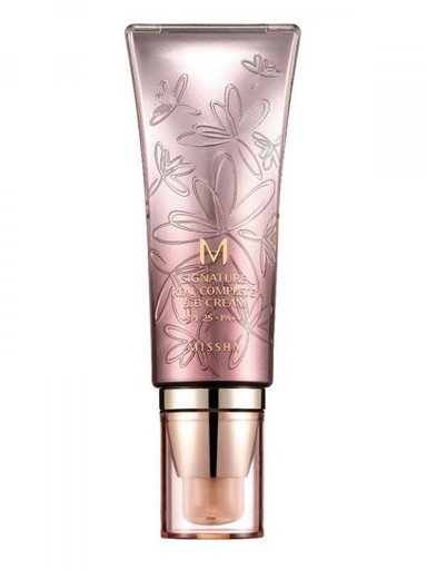 ББ-крем с растительными экстрактами Missha M Signature Real Complete BB Cream SPF25/PA++ (13/Bright Milky Beige)