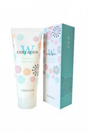 Крем для рук с коллагеном Enough W Collagen Pure Shining Hand Cream