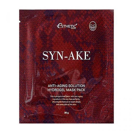 Гидрогелевая маска разглаживающая с пептидом змеиного яда Esthetic House Syn-Ake Anti-Aging Solution Hydrogel Mask Pack