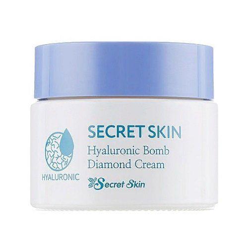 Увлажняющий крем с гиалуроновой кислотой Secret Skin Hyaluronic Bomb Diamond Cream