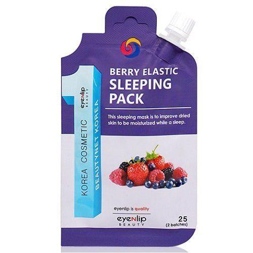 Маска ночная с экстрактами ягод Eyenlip Berry Elastic Sleeping Pack