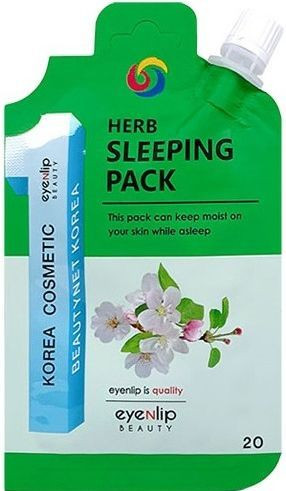 Маска для лица ночная успокаивающая Eyenlip Herb Sleeping Pack