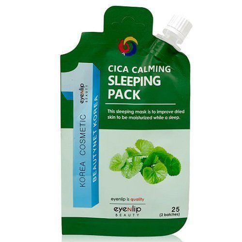 Маска ночная с экстрактом центеллы Eyenlip Cica Calming Sleeping Pack