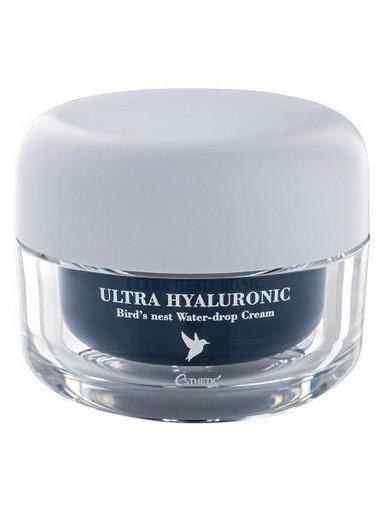 Крем с гиалуроновой кислотой и экстрактом ласточкиного гнезда Esthetic House Ultra Hyaluronic Acid Bird's Nest Water-drop Cream