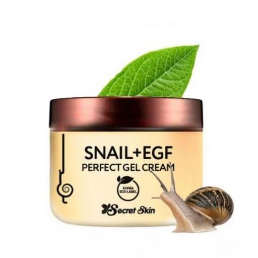Крем-гель для лица с муцином улитки Secret Skin Snail+EGF Perfect Gel Cream