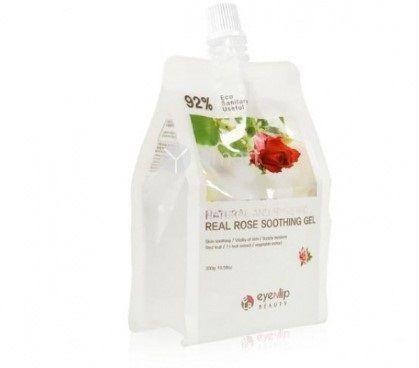 Гель для лица и тела с экстрактом розы Eyenlip Natural And Hygienic Real Rose Soothing Gel