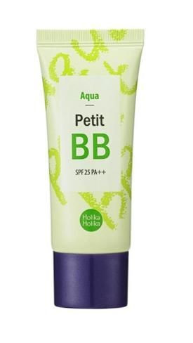 Увлажняющий BB-крем с экстрактом зеленого чая Holika Holika Petit BB Aqua