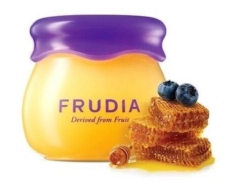 Питательный бальзам для губ с черникой и мёдом Frudia Blueberry Hydrating Honey Lip Balm