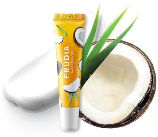 Крем-бальзам для губ с кокосом Frudia Coconut Honey Salve Lip Cream