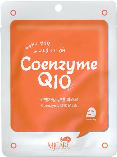 Тканевая маска с коэнзимом Q10 MJ CARE Coenzyme Q10 Mask