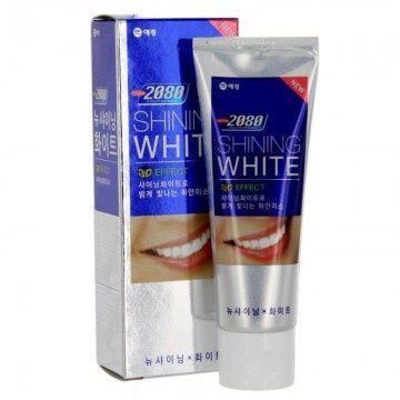 Отбеливающая зубная паста Dental Clinic 2080 Shining White