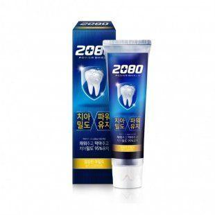 Защитная зубная паста с мягким мятным вкусом Dental Clinic 2080 Power Shield Gold Mint