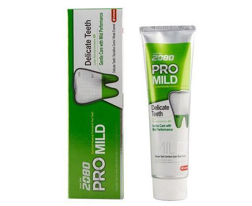 Мягкая защита зубная паста для чувствительных зубов и десен Dental Clinic 2080 Pro Mild KeraSys