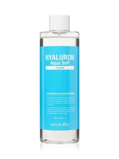 Гиалуроновый тонер с эффектом микро-пилинга Secret Key Hyaluron Aqua Soft Micro-Peel Toner