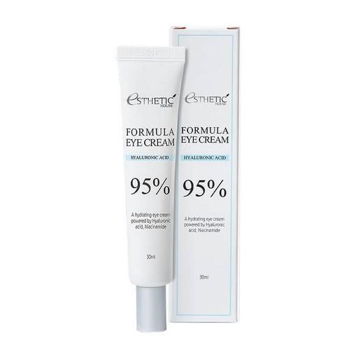 Увлажняющий крем для кожи вокруг глаз с гиалуроновой кислотой и ниацинамидом  Esthetic House Formula Eye Cream Hyaluronic Acid 95%