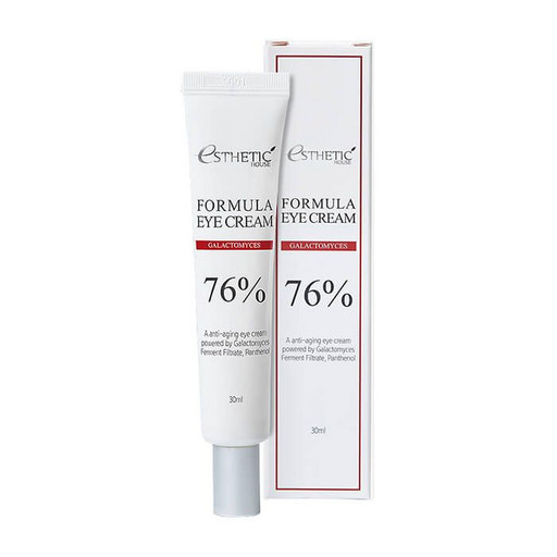 Восстанавливающий защитный крем для кожи вокруг глаз с галактомисисом и ниацинамидом  Esthetic House Formula Eye Cream Galactomyces