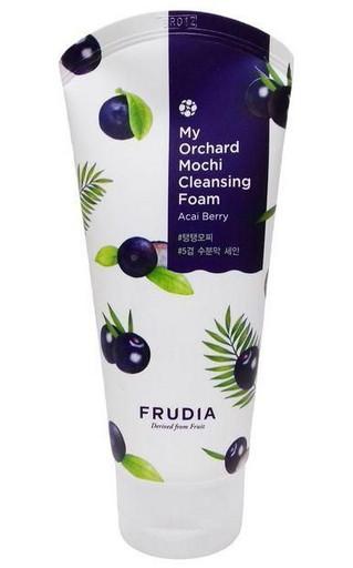 Очищающая пенка для лица с ягодами асаи Frudia My Orchard Acai Berry Mochi Cleansing Foam