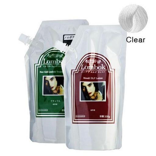 Система для ламинирования волос прозрачная Lombok Original Set Clear