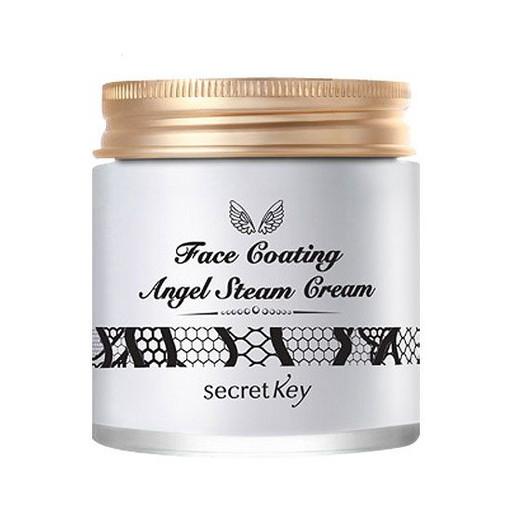 Крем для лица паровой с арганой Secret Key Face Coating Angel Steam Cream 02 Gardenia
