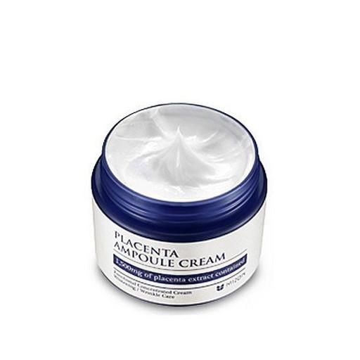 Антивозрастной питательный плацентарный крем Mizon Placenta Ampoule Cream