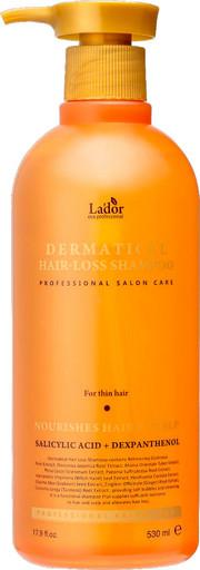 Укрепляющий шампунь против выпадения для тонких волос Lador Dermatical Hair-Loss Shampoo For Thin Hair