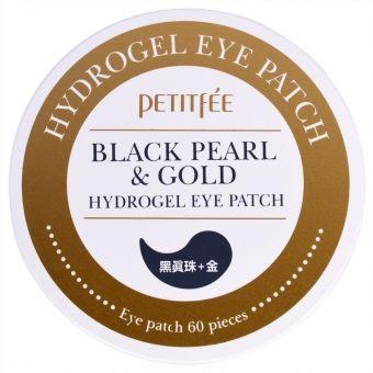 Гидрогелевые патчи с черным жемчугом и золотом Petitfee Black Pearl & Gold Hydrogel Eye Patch