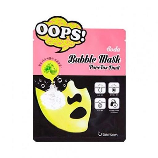 Пузырьковая маска для лица Berrisom Soda Bubble Mask PoreTox Fruit