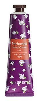 Крем для рук парфюмированный The Saem Perfumed Hand Cream Liliac