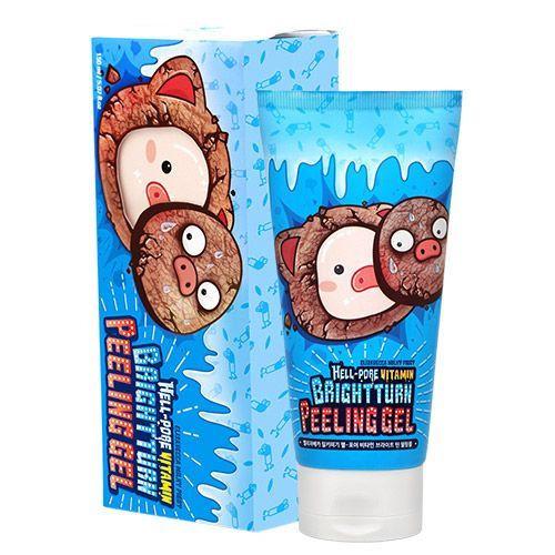 Витаминный пилинг-гель для сияния кожи Elizavecca Hell-Pore Vitamin Bright Turn Peeling Gel