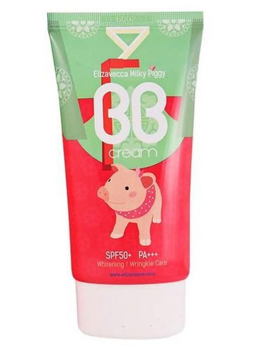 Увлажняющий и омолаживающий ББ крем Elizavecca Milky Piggy BB Cream