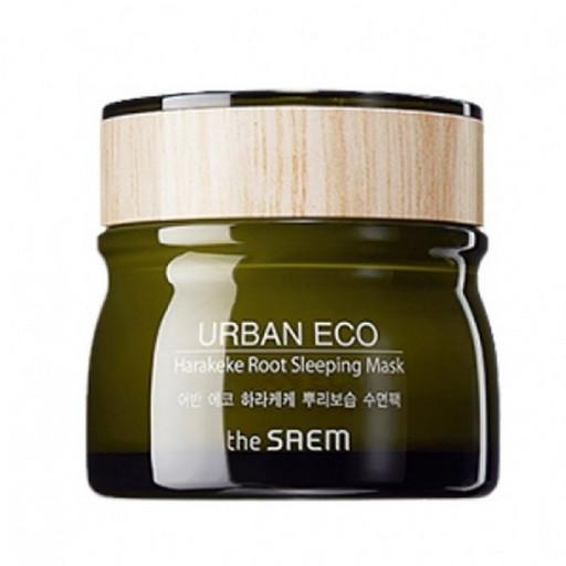 Ночная маска с экстрактом корня новозеландского льна The Saem Urban Eco Harakeke Root Sleeping Mask