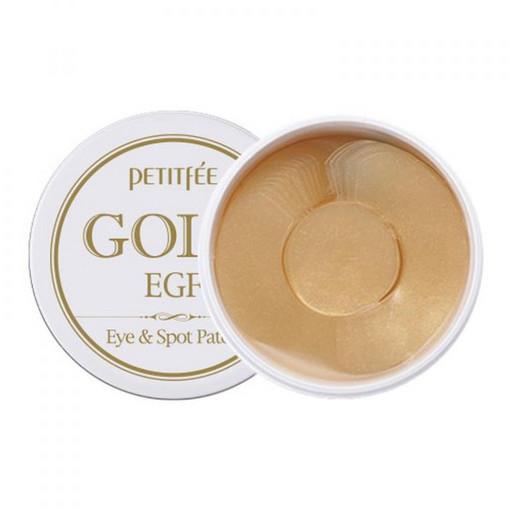 Антивозрастные гидрогелевые патчи с EGF и золотом Petitfee Gold & EGF Eye & Spot Patch
