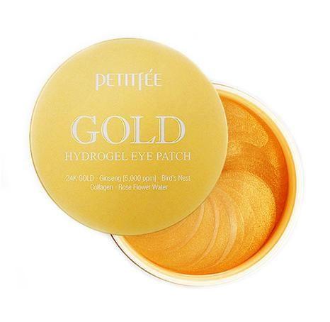 Антивозрастные гидрогелевые патчи с золотом Petitfee Gold Hydrogel Eye Patch